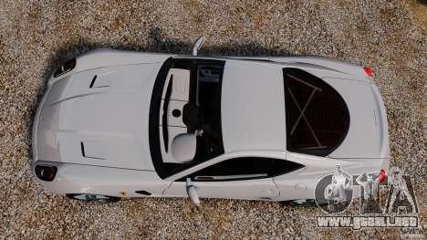 Ferrari 599 GTB Fiorano 2006 para GTA 4 visión correcta