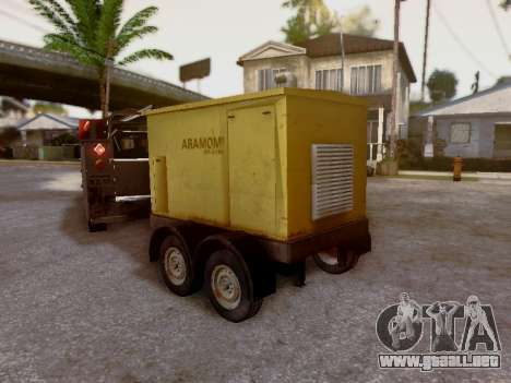 Trailer Generator para visión interna GTA San Andreas