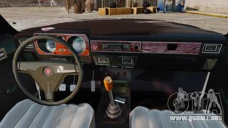 Gaz-3102 para GTA 4 vista interior