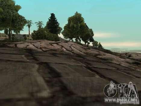 Montaña de piedra para GTA San Andreas segunda pantalla
