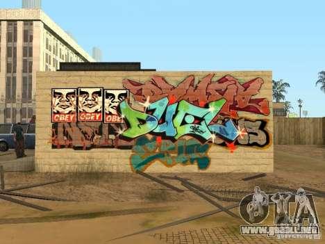 Los Santos ciudad graffiti leyendas v1 para GTA San Andreas