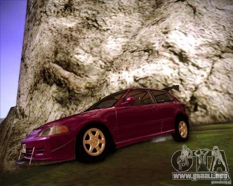 Honda Civic 1994 para GTA San Andreas