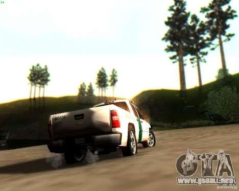 Chevrolet Silverado Police para las ruedas de GTA San Andreas