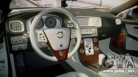 Volvo S60 para GTA 4 visión correcta