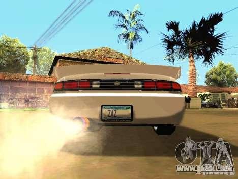 Nissan 200SX JDM para la visión correcta GTA San Andreas