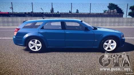 Dodge Magnum RT 2008 para GTA 4 left