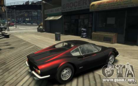 Ferrari Dino 1969 para GTA 4 visión correcta