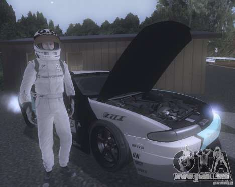 Matt Powers NFS Team para GTA San Andreas