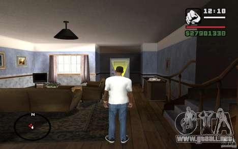 Pantalones vaqueros flacos para GTA San Andreas tercera pantalla