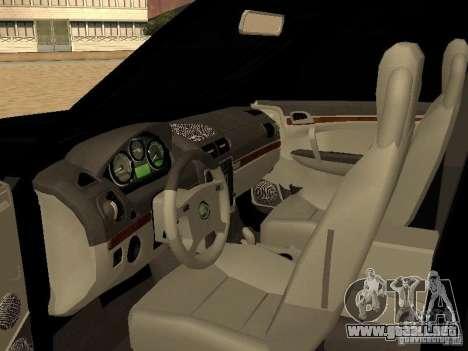 Land Rover Range Rover Sport para la visión correcta GTA San Andreas