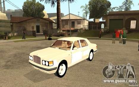 Bentley Turbo RT para GTA San Andreas