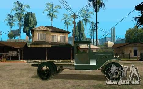 GAZ AA para GTA San Andreas left
