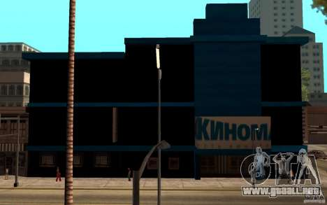 Cine Kinomaks. para GTA San Andreas