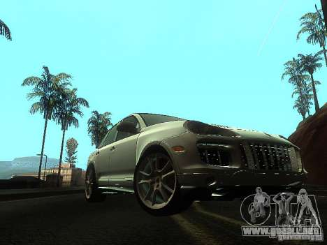 Porsche Cayenne Turbo S para GTA San Andreas left