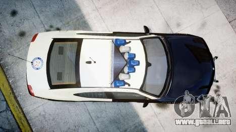 Dodge Charger Florida Highway Patrol [ELS] para GTA 4 visión correcta