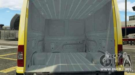 Ford Transit NY Airport Service [ELS] para GTA 4 vista lateral