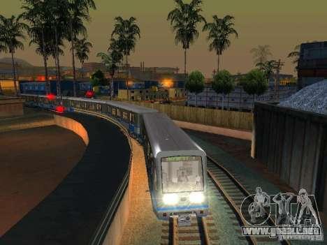Nueva señal de tren para GTA San Andreas sucesivamente de pantalla