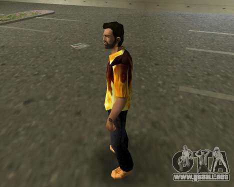 Camisa con llamas para GTA Vice City segunda pantalla