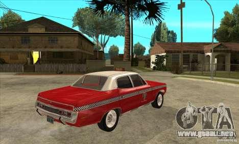 AMC Matador Taxi para la visión correcta GTA San Andreas