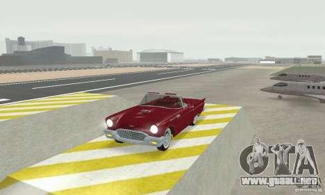 Ford Thunderbird 1957 para GTA San Andreas left