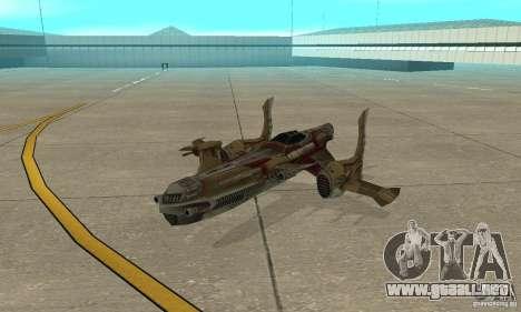 Hydra TimeShift Skin 1 para GTA San Andreas left
