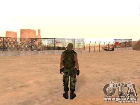 Comando ruso para GTA San Andreas sucesivamente de pantalla