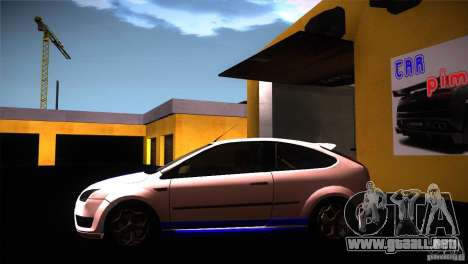 Ford Focus 2 Coupe para GTA San Andreas left