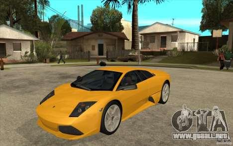 Lamborghini Murcielago LP640 para GTA San Andreas
