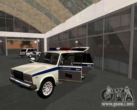 VAZ 21047 policía para GTA San Andreas