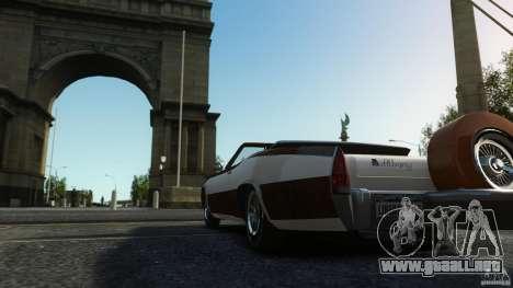 Buccaneer Final para GTA 4 vista interior