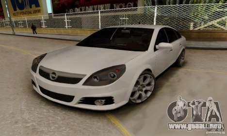 Opel Vectra C 2005 para GTA San Andreas