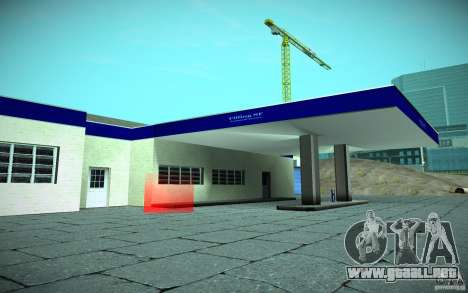 HD Garage in Doherty para GTA San Andreas segunda pantalla