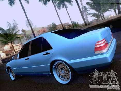 Mercedes-Benz S-Class W140 para la visión correcta GTA San Andreas