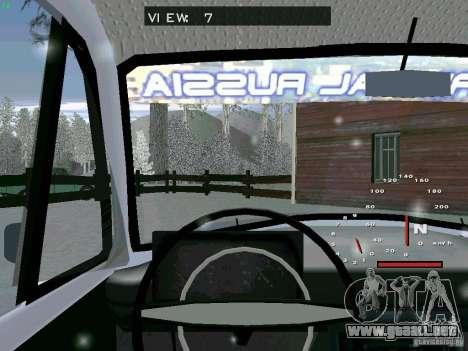 IZH-27151 para la visión correcta GTA San Andreas