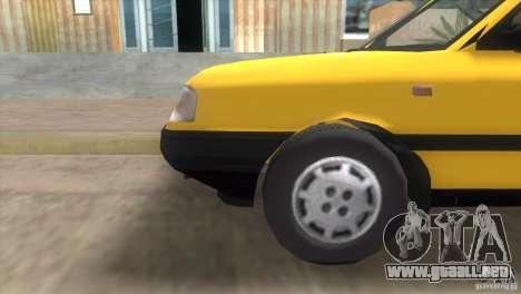 FSO Polonez Atu para GTA Vice City visión correcta