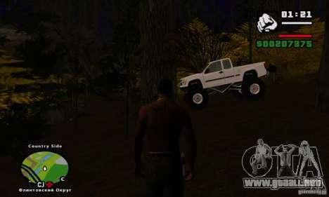 Travesía v1.0 para GTA San Andreas sexta pantalla
