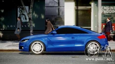 Audi TT RS Coupe v1.0 para GTA 4 left