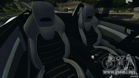 Mercedes-Benz SLK 2012 v1.0 [RIV] para GTA 4 vista interior