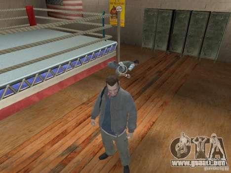 El sistema de combate de GTA IV para GTA San Andreas segunda pantalla