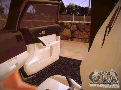 Hummer H3R para vista lateral GTA San Andreas