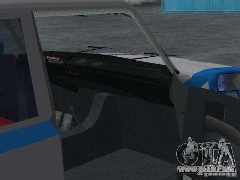 VAZ 2101 marinero para visión interna GTA San Andreas