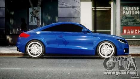 Audi TT RS Coupe v1.0 para GTA 4 vista interior