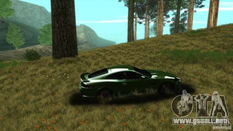 ENBSeries by dyu6 v2.0 para GTA San Andreas quinta pantalla