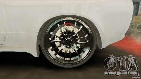 R32 Nissan Skyline GTS-T [FINAL] para GTA 4 vista hacia atrás