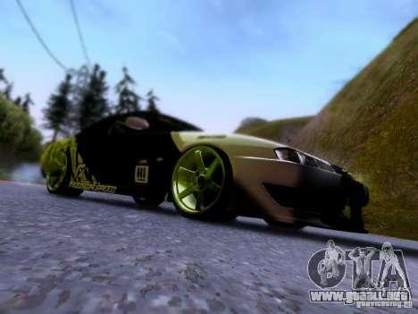 Nissan Silvia S14 Matt Powers v3 para visión interna GTA San Andreas