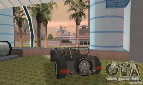 Lotus Seven para GTA San Andreas left