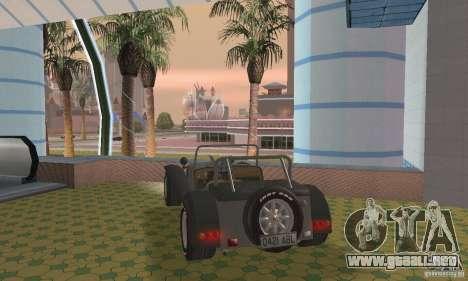 Lotus Seven para GTA San Andreas left