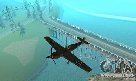 Bf-109 para GTA San Andreas