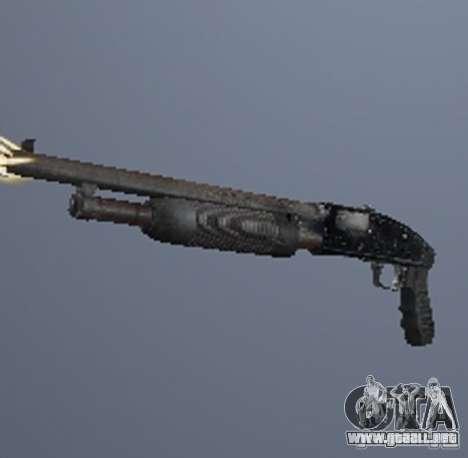 Un conjunto de armas de acosador V3 para GTA San Andreas tercera pantalla