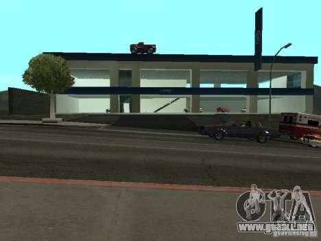 Ford Auto Show para GTA San Andreas sucesivamente de pantalla